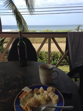 Hermosa Surf Vacations:                                     Perfect Day. Surfed 2 hrs and had breakfast with this view..