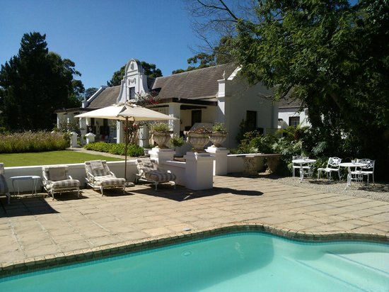 Lairds Lodge Country Estate:                   delightful pool area and loungers