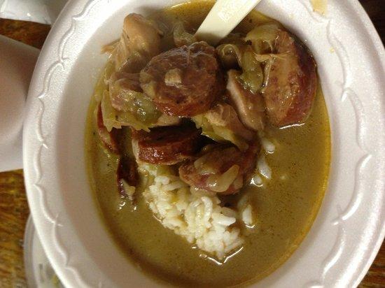 Bon Creole Seafood:                                                       Chicken & Sausage Gumbo