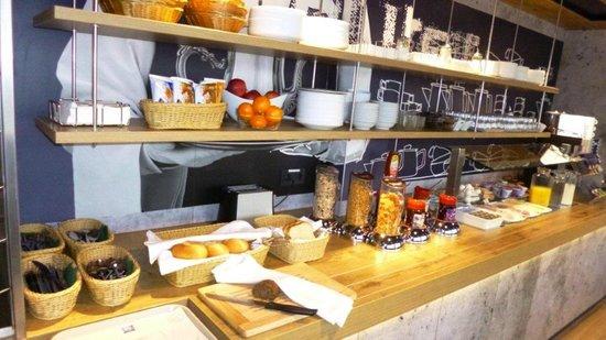 Ibis Budget Karlsruhe: ein reichhaltiges Frühstücksbuffet für jeden Geschmack