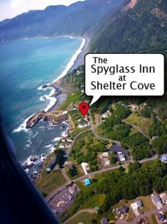 Spygl Inn At Shelter Cove In Beautiful California