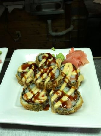 the Silva Roll from Kobe Express