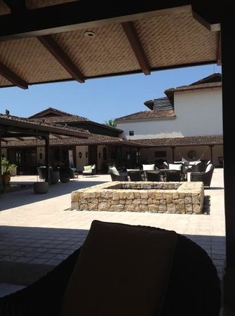 JW Marriott Guanacaste Resort & Spa:                   the lobby of the hotel!