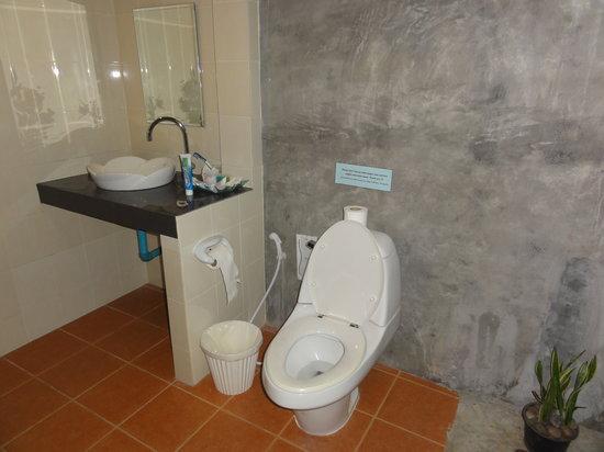 Sunda Resort:                   Туалет и душ