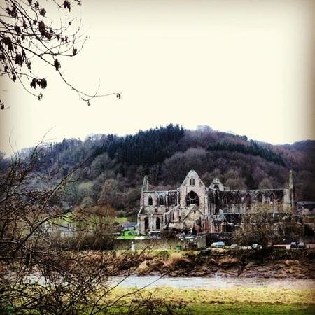 The Pilgrim Hotel:                   Tintern Abbey is within easy reach in the car