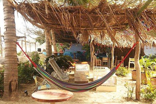 Beach Area By The Bar Picture Of Junto Al Rio Beachfront Bungalows