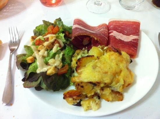 Hotel Restaurant Les Hirondelles :                                     Trufade