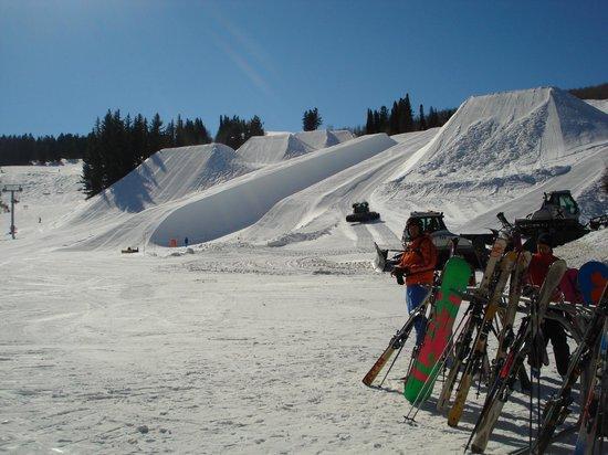 Buttermilk Mountain:                   aca se hacen los x games de invierno