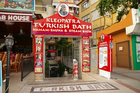 Alanya, Turkiet:                   Kleopatra Turkish Bath