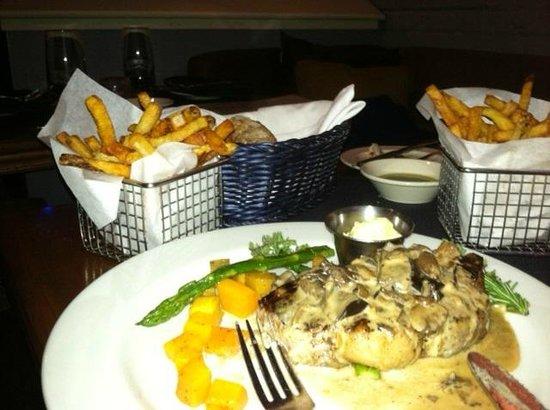 Caprice Bistro :                   Steak Frites...perfect
