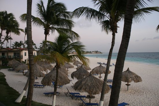 Divi Aruba All Inclusive:                   View from balcony