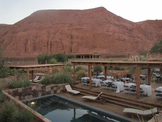 Alto Atacama Desert Lodge & Spa:                   Vista da área externa