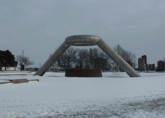 Horace E. Dodge & Son Memorial Fountain ~ Hart Plaza, Detroi