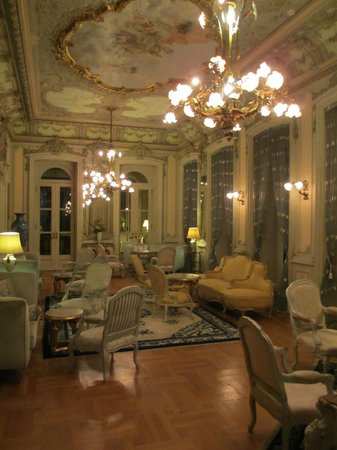 Pestana Palace Lisboa Hotel & National Monument:                   salon