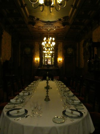 Pestana Palace Lisboa:                   formal dining area