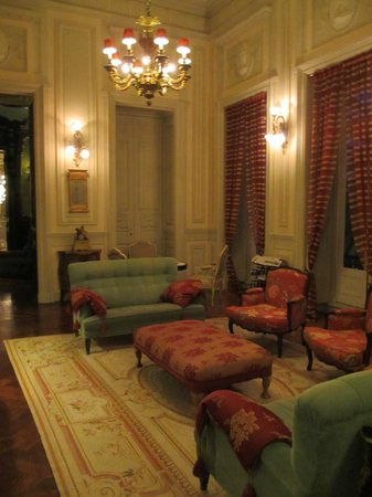 Pestana Palace Lisboa:                   salon