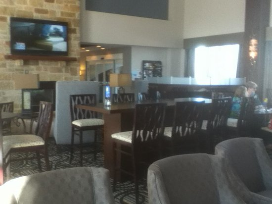 Holiday Inn Express & Suites Fredericksburg:                   Breakfast area