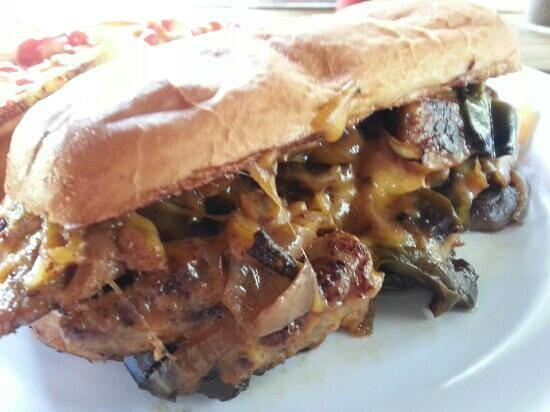 Hammock Inn Restaurant :                                     Gator Philly