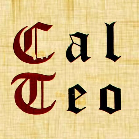 Cal Teo: logo