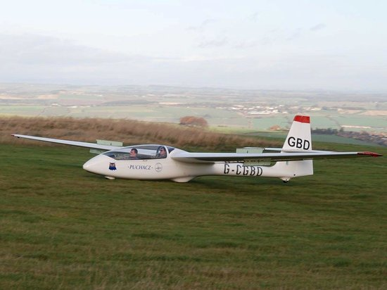 Northumbria Gliding Club One Of Our Two Seat Training Gliders A Puchacz