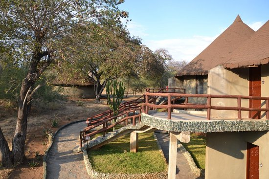 Tarangire Sopa Lodge:                   Our 2nd Floor bungelow
