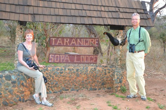 Tarangire Sopa Lodge:                   Entrance
