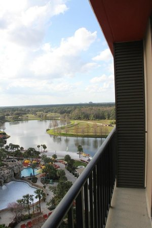Hyatt Regency Grand Cypress:                   Our balcony