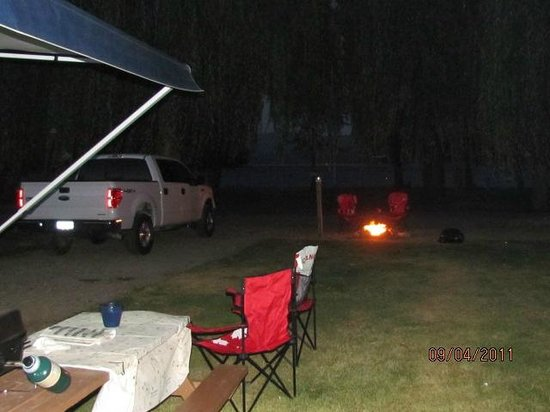 Cottonwood Family Campground:                   Night cap
