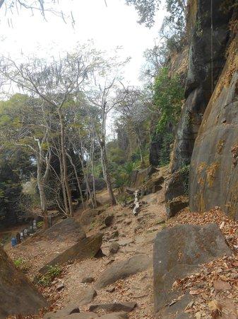 Vat Phou complex Temple - World Heritage:                   Site