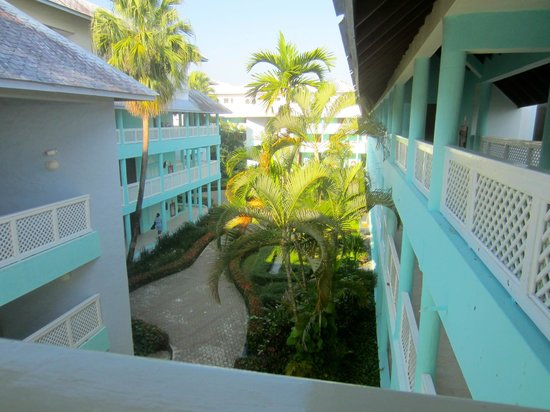 Grand Paradise Playa Dorada :                   view from third floor