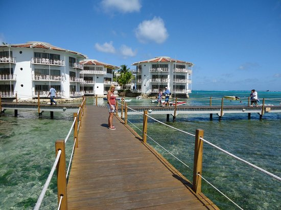 Royal Decameron Aquarium:                   paseo por el muelle