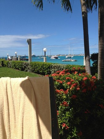 Simpson Bay Resort & Marina:                   From the Villa Pool area on Simpson Bay