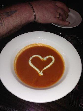 Lancaster House:                   valentines soup :)