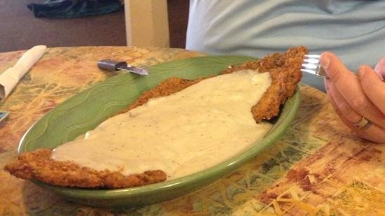 Hilldaddy's Wildfire Restaurant:                   Big Daddy's Chicken Fried Steak