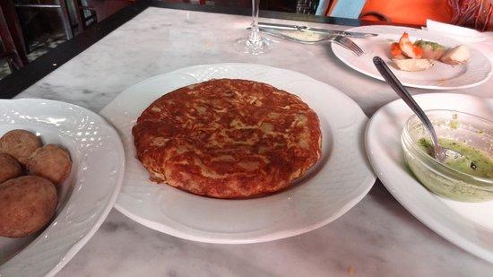 La Hierbita: Speise