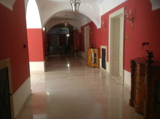 St. George Residence in the Buda Castle:                   St. George Residence - hallway2