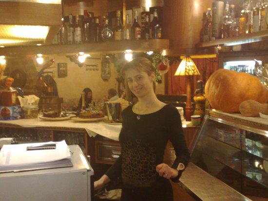 Mestrino, Italia: la simpatica orietta la titolare
