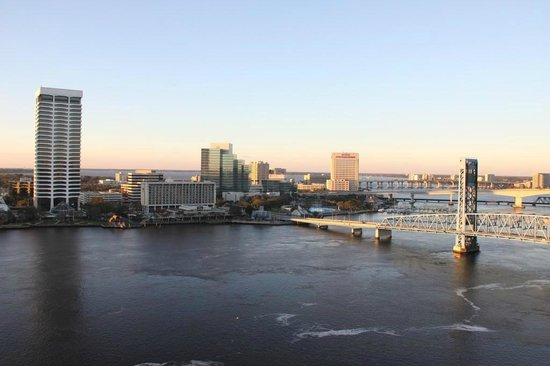 Hyatt Regency Jacksonville Riverfront:                   The view