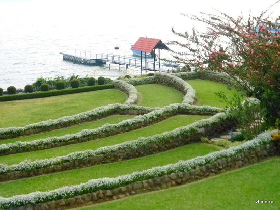 Hotel Atitlan:                   Gardens by the Lake