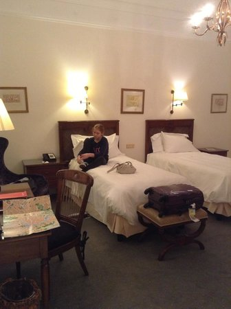 Hotel Eden - Dorchester Collection:                   Twin room