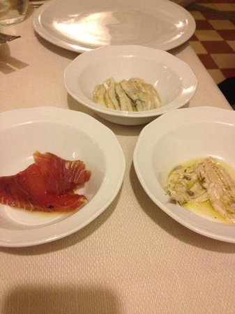 Rarita restaurant & lounge:                   antipasto assaggi freddo 7 piatti