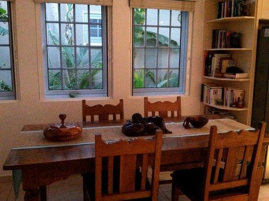 Sabadeco, Bonaire:                   Dining room