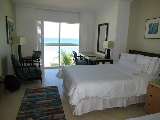 The Westin Resort & Spa Cancun:                   Our room (showing 1 of the 2 double beds)