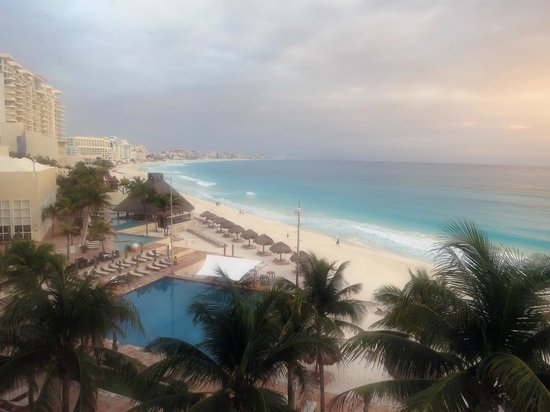 The Westin Resort & Spa Cancun:                   Awesome sunrise view from our room