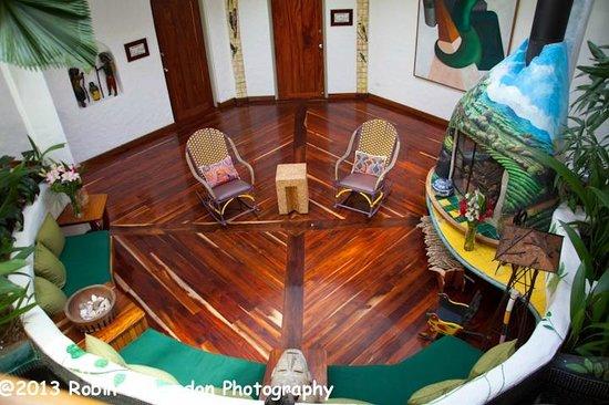 Finca Rosa Blanca Coffee Plantation Resort:                   Interior of main house