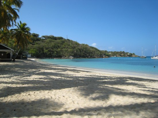 Water Island, St. Thomas:                   Honeymoon Beach