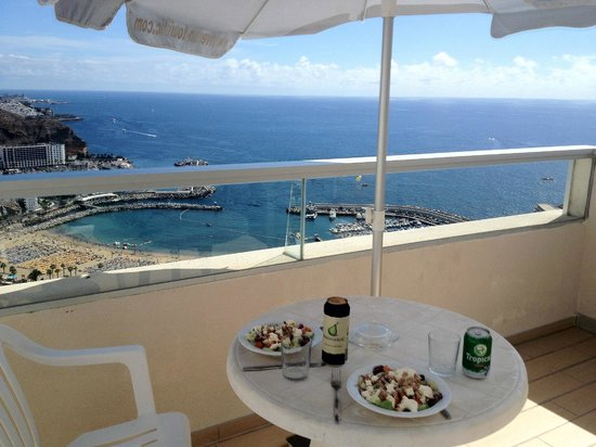 Hotel Riosol:                   Beautiful view - lunch on the balcony