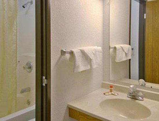 Super 8 Grayling: Bathroom