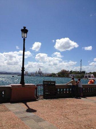 Sheraton Old San Juan Hotel:                   Old San Juan port area