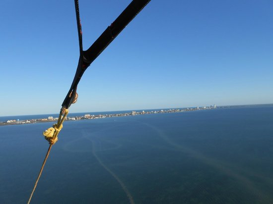 Parrot Eyes Watersports:                   View of SPI from the air
